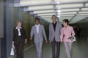 Dean Martin and Dick Martin at LAX (Los Angeles International Airport)circa 1975© 1975 Gary Lewis - Image 24300_0357