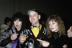 Ann Wilson, Rick Nielsen and Nancy Wilsoncirca 1985© 1985 Gary Lewis - Image 24300_0390