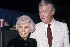 Barbara Stanwyck and James Stewartcirca 1975© 1978 Gary Lewis - Image 24300_0436