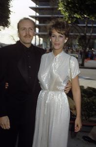 Jamie Lee Curtis and J. Michael Rivacirca 1980s© 1980 Gary Lewis - Image 24300_0479