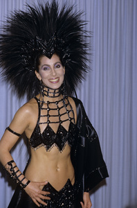 """Cher at """"The 58th Annual Academy Awards"""" 1986 © 1986 Gary Lewis"""