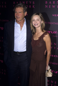 """Fashion For A Cause: Emanuel Ungaro Fashion Show to Benefit Rape Treatment Center""Harrison Ford, Calista Flockhart2003© 2003 Gary Lewis - Image 24300_0497"