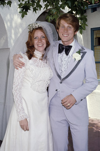 Ron Howard and his wife Cheryl on their wedding day1975© 1978 Gary Lewis - Image 24300_0514