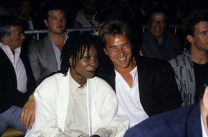 Richard Dawson, Whoopi Goldberg and Don Johnsoncirca 1980s© 1980 Gary Lewis - Image 24300_0519