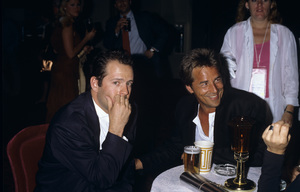 Bruce Willis and Don Johnsoncirca 1980s© 1980 Gary Lewis - Image 24300_0520