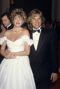 61st Annual Academy Awards Melanie Griffith and Don Johnson March 29, 1989 © 1989 Gary Lewis