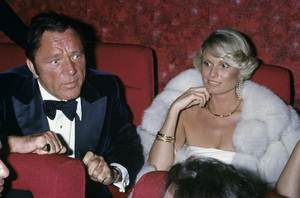 Richard Burton and Susan Huntcirca 1970s© 1978 Gary Lewis - Image 24300_0523
