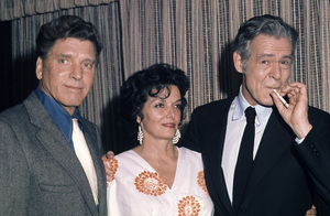 Burt Lancaster, Jane Russell and Robert Ryancirca 1970s© 1978 Gary Lewis - Image 24300_0530