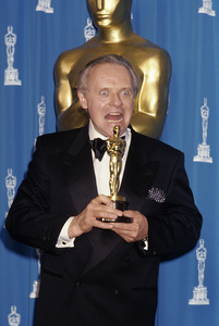 Anthony Hopkins at the 64th Annual Academy Awards March 30, 1992 © 1992 Gary Lewis