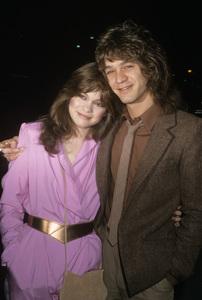 Valerie Bertinelli and Eddie Van Halencirca 1980s© 1980 Gary Lewis - Image 24300_0541