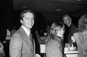Jack Nicholson and Julie Christiecirca 1970s© 1978 Gary Lewis - Image 24300_0575