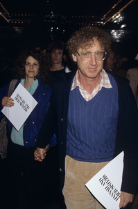 """Gilda Radner and Gene Wilder at a screening of """"Hannah and Her Sisters""""1986© 1986 Gary Lewis - Image 24300_0577"""
