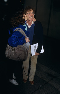 """Gilda Radner and Gene Wilder at a screening of """"Hannah and Her Sisters""""1986© 1986 Gary Lewis - Image 24300_0578"""