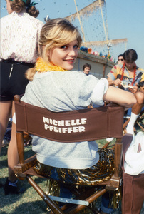 "Michelle Pfeiffer during the making of ""Grease 2""1982© 1982 Gary Lewis   - Image 24300_0583"