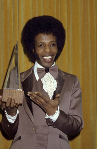 Sly Stone and his American Music Awardcirca 1974© 1978 Gary Lewis - Image 24300_0588