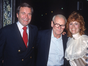 Robert Wagner, Laurence Olivier and Jill St. Johncirca 1980s© 1980 Gary Lewis - Image 24300_0617