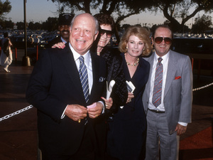 Don Rickles and Bob Newhart with their wives, Barbara Rickles and Ginny Newhartcirca 1990© 1990 Gary Lewis - Image 24300_0626