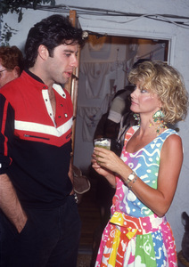 John Travolta and Olivia Newton-Johncirca 1980s© 1980 Gary Lewis - Image 24300_0650
