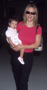 Kelly Preston and her daughter, Ella Bleu Travoltacirca 2001© 2001 Gary Lewis - Image 24300_0657