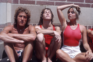 Roger Daltrey, Andy Gibb and Susan George circa 1970s© 1978 Gary Lewis - Image 24300_0660