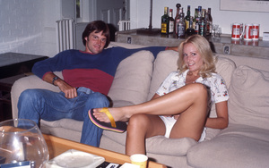 Bruce Jenner and Chrystie Jenner circa 1977 © 1978 Gary Lewis - Image 24300_0662