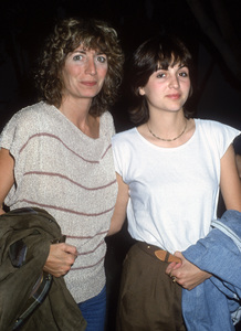 Penny Marshall and her daughter, Tracy Henry Reinercirca 1980s© 1980 Gary Lewis - Image 24300_0680