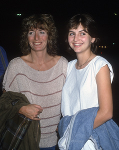 Penny Marshall and her daughter, Tracy Henry Reinercirca 1980s© 1980 Gary Lewis - Image 24300_0682