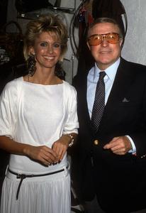 Olivia Newton-John and Gene Kelly1980© 1980 Gary Lewis - Image 24300_0694