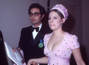 "Barbra Streisand and Dave Horowitz at ""The 42nd Annual Academy Awards""1970© 1978 Gary Lewis - Image 24300_0697"