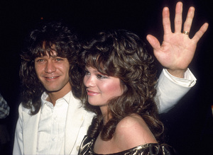 Valerie Bertinelli and Eddie Van Halen circa 1980s © 1980 Gary Lewis - Image 24300_0700