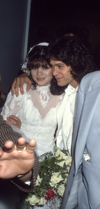 Valerie Bertinelli and Eddie Van Halen on their wedding day1981© 1981 Gary Lewis - Image 24300_0701