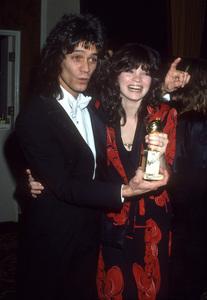 Valerie Bertinelli and Eddie Van Halen circa 1981 © 1981 Gary Lewis - Image 24300_0702
