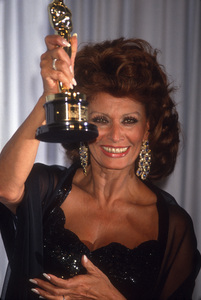 "Sophia Loren at ""The 63rd Annual Academy Awards""1991© 1991 Gary Lewis - Image 24300_0721"