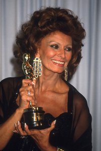 "Sophia Loren at ""The 63rd Annual Academy Awards""1991© 1991 Gary Lewis - Image 24300_0722"