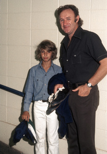 Gene Hackman and his son, Christopher Hackmancirca 1970s© 1978 Gary Lewis - Image 24300_0729