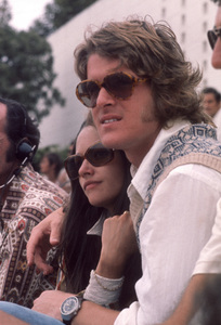 Olivia Hussey and Dean Paul Martincirca 1970s© 1978 Gary Lewis - Image 24300_0749