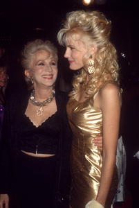 """Olympia Dukakis and Daryl Hannah at the premiere of """"Steel Magnolias""""  1989© 1989 Gary Lewis - Image 24300_0778"""
