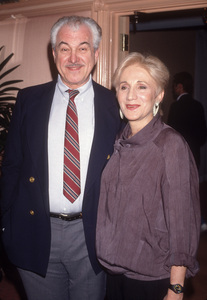 Olympia Dukakis and husband, Louis Zorichcirca 1990© 1990 Gary Lewis - Image 24300_0781