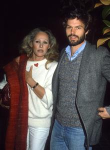 Ursula Andress and Harry Hamlincirca 1980s© 1980 Gary Lewis - Image 24300_0783