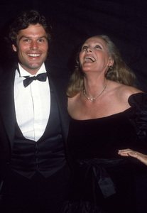 Ursula Andress and Harry Hamlincirca 1980s© 1980 Gary Lewis - Image 24300_0784