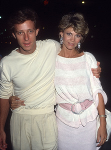 Markie Post and her husband, Michael A. Rosscirca 1985© 1985 Gary Lewis - Image 24300_0800