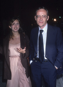 Carrie Fisher and Buck Henry1978© 1978 Gary Lewis - Image 24300_0803