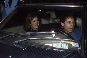 Carrie Fisher and Paul Simoncirca 1981© 1981 Gary Lewis - Image 24300_0804