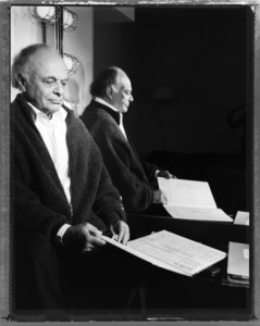 Lorin Maazel photographed at Carnegie Hall in New York City1999© 1999 Ken Shung - Image 24302_0024