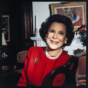 Kitty Carlisle photographed in her New York City home1993© 1993 Ken Shung - Image 24302_0086