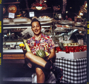 Rob Schneider photographed at Balduccis Market in New York City1994© 1994 Ken Shung - Image 24302_0128