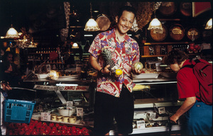 Rob Schneider photographed at Balduccis Market in New York City1994© 1994 Ken Shung - Image 24302_0129