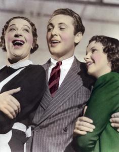 "Fanny Brice, Allan Jones and Judy Garland in ""Everybody Sing""1938 MGM** I.V. - Image 24322_0066"