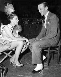 "Judy Garland and Fred Astaire on the set of ""Easter Parade""1948 MGM** I.V. - Image 24322_0067"