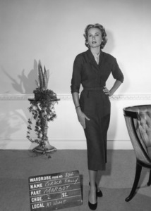 "Grace Kelly wardrobe test for ""Dial M for Murder""1954** I.V. - Image 24322_0078"